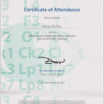 Allergan Certificate of Attendance