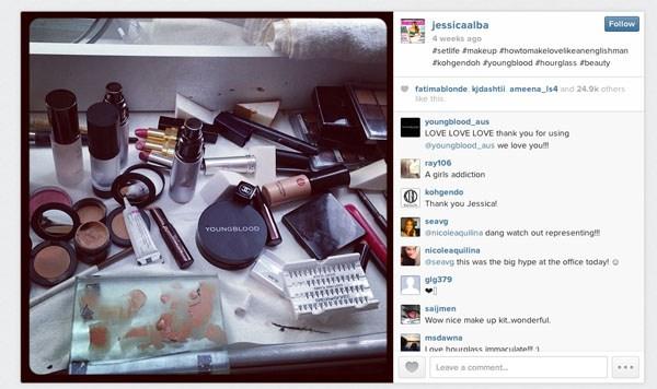 Jessica Alba's Instagram - Youngblood