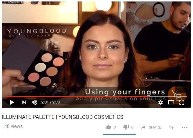Youtube - Youngblood Mineral Cosmetics